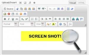Ckeditor screenshot - Ckeditor Plug In for WordPress